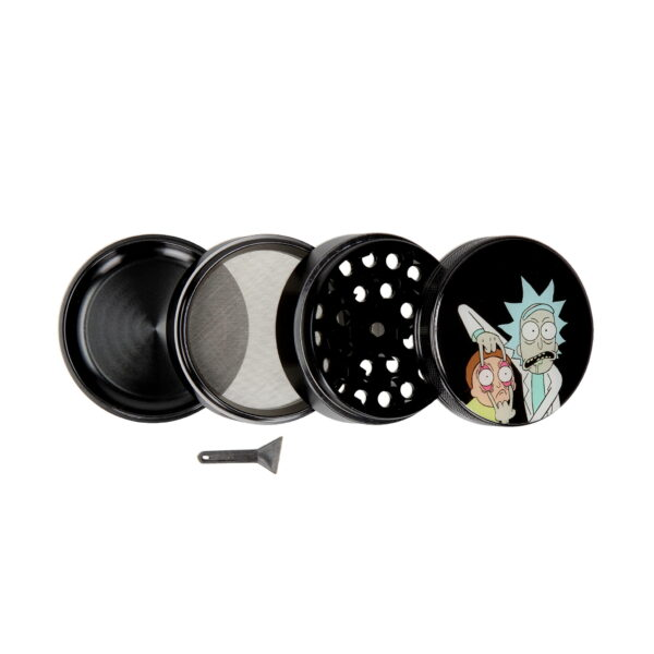 Grinder Rick and Morty 63mm 4 parts